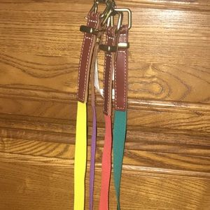 4 Old Navy Belt Bundle